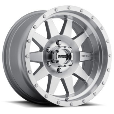 (MR30157055306N - Method Race Wheels MR301 The Standard MR30157055306N Machined Finish Aluminum Alloy Wheel - 15 in. Wheel Diameter X 7 in. Wheel Width, 5 x 5.5 in. Bol. )