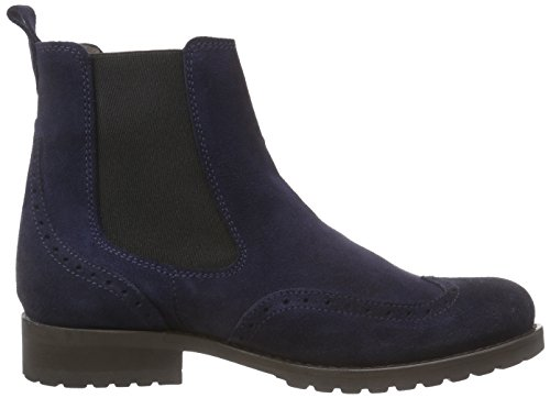 Belmondo - Zapatos de cuero para mujer Azul (marino)
