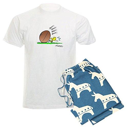 (CafePress - Woodstock Kicker - Unisex Novelty Cotton Pajama Set, Comfortable PJ Sleepwear)