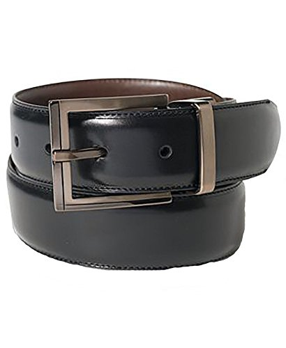 Alfani Reversible Calf Leather Belt (BLACKCOGN, (Alfani Belt)