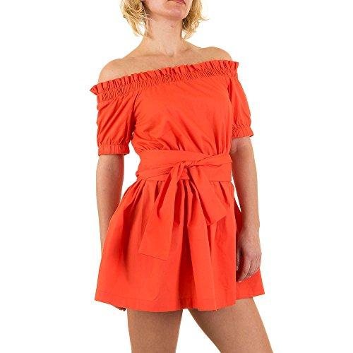 iTaL-dESiGn - Vestido - para mujer naranja