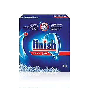 Finish Dishwasher Detergent Salt, 2kg