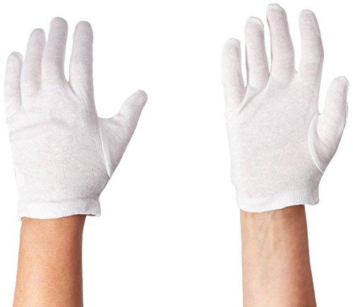 Dermatological Cotton Gloves-Ladies, Small, Cara 81-4 Pairs