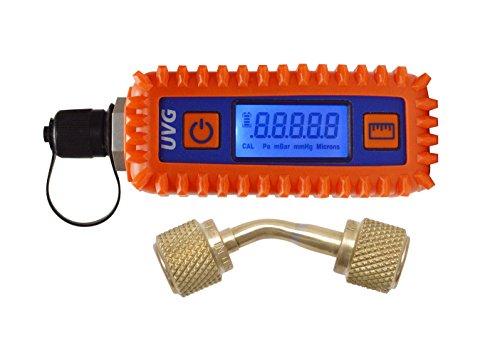 Uniweld UVG Digital Vacuum Gauge & Adaptor (Best Micron Vacuum Gauge)