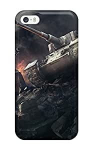 Fashionable Style Case Cover Skin For Iphone 5/5s- Wargaming World Of Tanks
