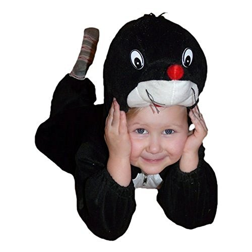 Fantasy World Mole Halloween Costume f. Children/Boys/Girls, Size: 7, (7 Last Minute Halloween Costumes)