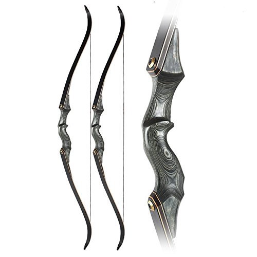 Obert Archery Takedown Recurve Bow 58inch Traditional Longbow Hunting Target Practice