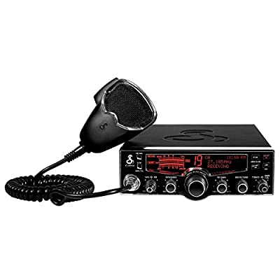 Cobra 29 LX 40-Channel CB Radio with Instant Access 10 NOAA Weather Stations and Selectable 4 Color Display by Cobb9