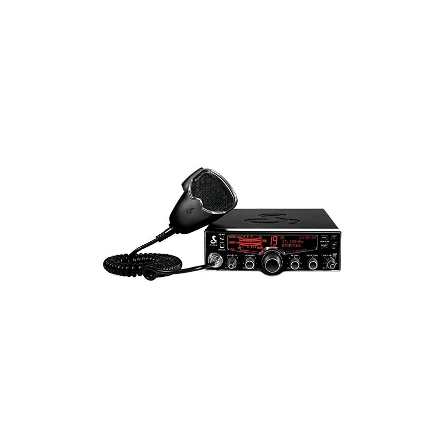 Cobra 29 LX 40 Channel CB Radio with Instant Access 10 NOAA Weather Stations and Selectable 4 Color Display