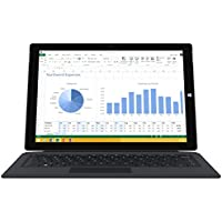 Microsoft Surface Pro 3 512GB WiFi Tablet + Black Type Keyboard Bundle (12-Inch Touchscreen, 1.7GHz Intel Core i7, 8GB Ram)