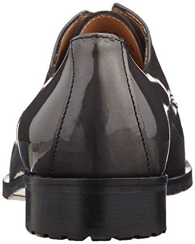 de Derby Sioux Negro Zapatos para asphalt Schwarz Barbia Mujer Cordones Schwarz EWn64q