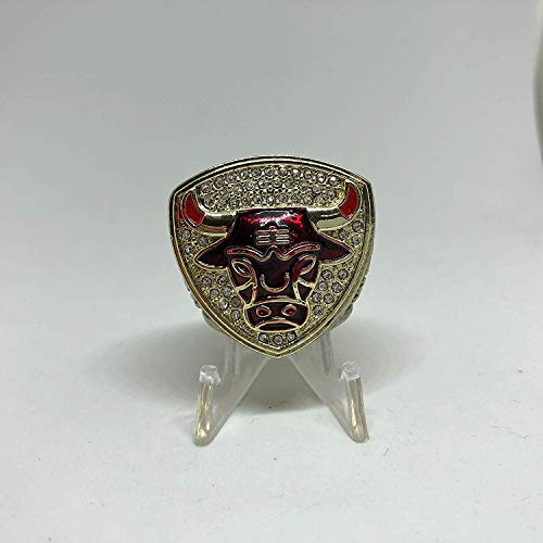 1993 Michael Jordan #23 Chicago Bulls High Quality Replica 1993 Championship Ring Size 11-Gold Colored USA -