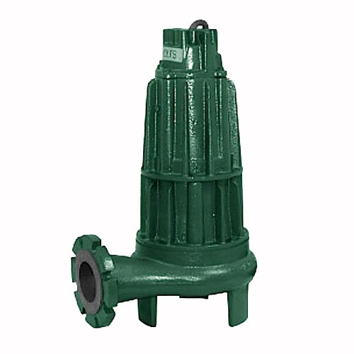 Zoeller-F651-Sewage-Waste-230-Volt-3-Phase-Nonauto-Submersible-Pump-w4-In-Horizontal-Discharge