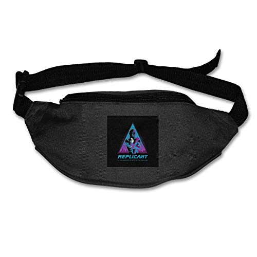Fanny Pack For Women Men Like Tears In Rain Blade Runner Waist Bag Pouch Travel Pocket Wallet Bum Bag For Running Cycling Hiking Workout