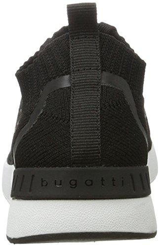 Dames Bugatti Dy51616 Noir Baskets (noir)