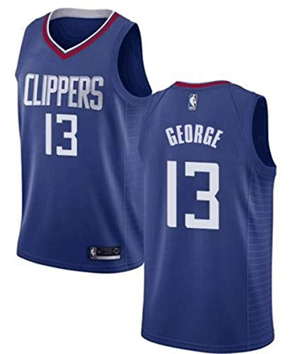 VF LSG Men's Los Angeles Clippers #13 Paul George Jersey Blue ()