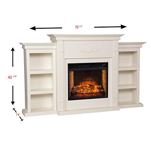 Southern Enterprises, Inc. AMZ4458IF Infrared Electric Fireplace by Southern Enterprises, Inc. (Image #3)