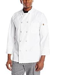Chef Designs mens Rk Ten Pearl Button Chef Coat