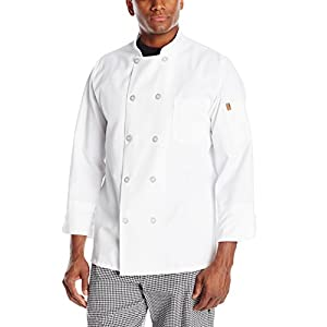 Chef Designs Men's RK Ten Pearl Button Chef Coat