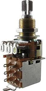 Bourns 250K Short Split Audio Taper Push/Pull Pot - 1X