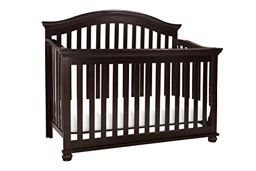 DaVinci Sherwood 4-in-1 Convertible Crib In Dark Java