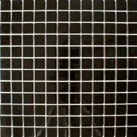 Schwarz Glänzend Quadratisch Klein Fliesen X X Mm - Fliesen mosaik rund