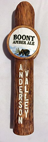 (Anderson Valley Brewing Co. Boont Amber Ale Beer Tap Handle)