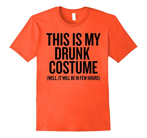 Mens This Is My Drunk Costume T-Shirt Kids Men Women Halloween, Medium (This Is The End Halloween Costumes)