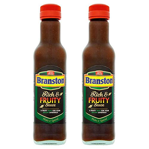 Branston Rijke & Fruitige Saus 245g (Pack van 2)
