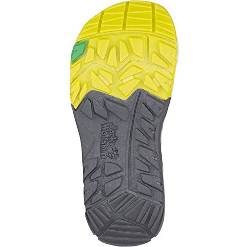 Jack Wolfskin Puno Bay Splash Sandal Boy lemon