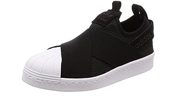 release date 790ae a4ace Amazon.com  adidas Womens Superstar Slip On, CORE BlackCORE BlackFootwear  White, 6.5 US  Fashion Sneakers