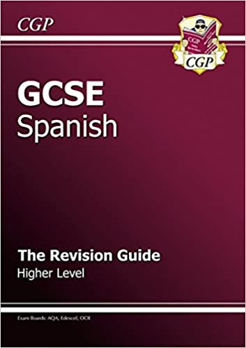GCSE Spanish Revision Guide,CGP Books