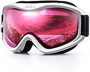 Juli Kids Ski Goggles,Snow Snowboard Goggles Boy Girl Snowmobile Skiing Skating Age 3-8 4302