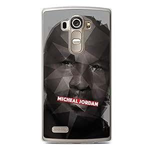 Micheal Jordan LG G4 Transparent Edge Case - Heroes Collection