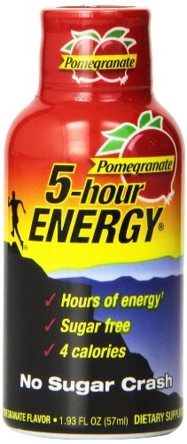 5 Hour Energy Shot, Pomegranate, 24 Count