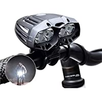 Lanterna Farol Bike Recarregável Cree T6 Ws139 Jws