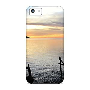 E-Lineage Design High Quality Moonlight Paradise Cover Case With Excellent Style For Iphone 5c