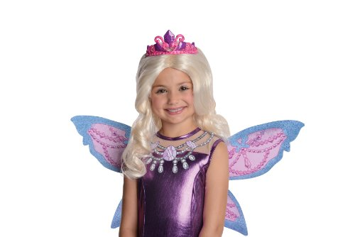 Barbie Fairytopia Mariposa and Her Butterfly Fairy Friends Mariposa Barbie's Catiana Wig with Attached Tiara Costume