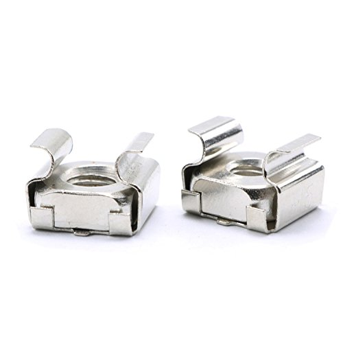M6 Cage Nut,Stainless Steel,Pack of 30-piece,M6 Captive Nut (Stainless Nuts Steel Cage)