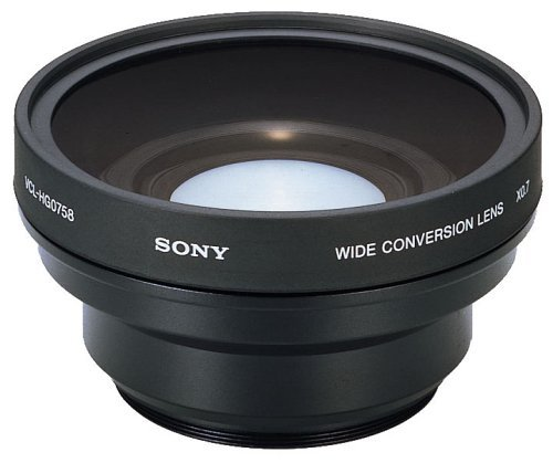 Sony VCLHG0758 High Performance Wide Conversion Lens x0.7 for 58mm diameter lens by Sony