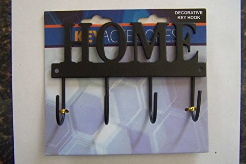 """Decorative Home Key Hook Hanger Rack Holder Wall Decor 4-1/2""""X3 from Unknown"""
