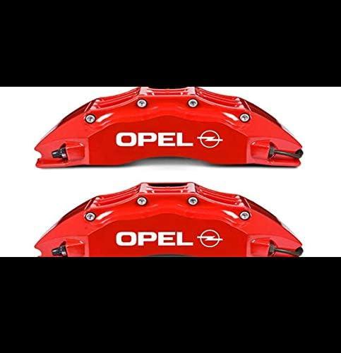 4 X Bremsen Bremssattel Aufkleber Opel Aufkleber Autoaufkleber Auto Tuning Sticker Aufkleber Mit Montage Set Inkl Estrellina Montage Rakel Estrellina Glücksaufkleber Küche Haushalt