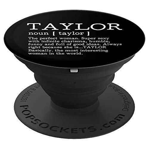 Adult Definition - First Name Taylor - Pop Socket