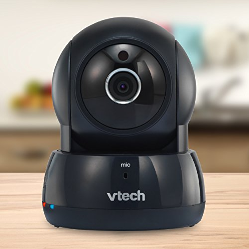 VTech VC931-12 Wireless IP HD Video Camera with Remote Pan & Tilt, Free Live Streaming & Automatic Infrared Night Vision, Graphite