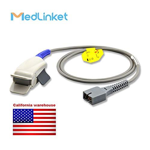 - Covidien Nellcor DS100A Compatible Reusable SpO2 Adult Finger Clip Sensor, 1M