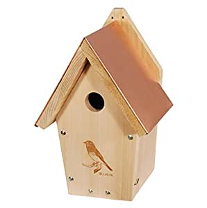 WoodLink BB303 Coppertop Bluebird House