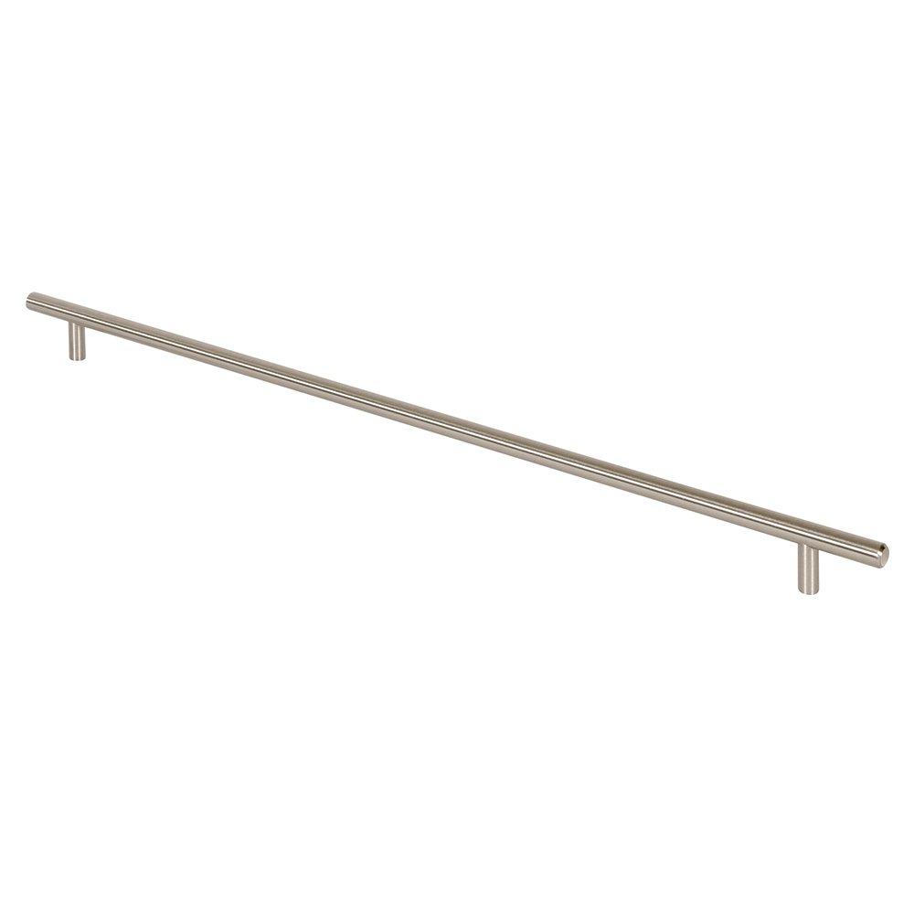 Prime-Line Products KD 17509 Bar Pull 22-Inch OL x 19-Inch CC x 12mm Dia, Satin Nickel