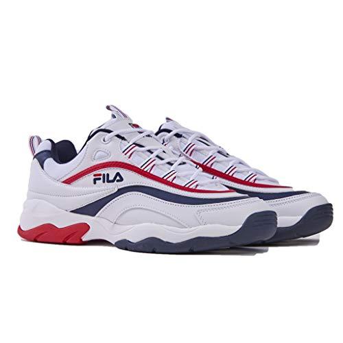 Rosso Fila Ray Man 01m Low Sneakers 1010578 F PZp6FP