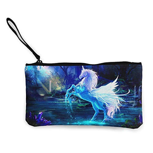 TLDRZD Crystal Cartoon Unicorn Tote Shopping Bag for Women Coin Purse Wallet Bag Makeup Bag Pencil Bag for Litter Girls Student