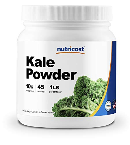 Nutricost Kale Powder 1LB - All Natural, Non-GMO, Gluten Free, Pure, Premium Kale (Kale Shake)